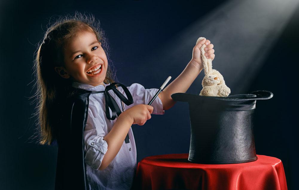 Faire plaisir à vos enfants grâce à la magie